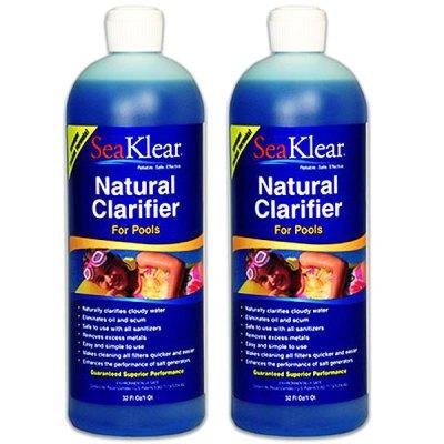 SeaKlear Pool Water Natural Clarifier SKP-C-Q - 2 Pack