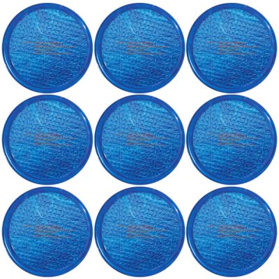 Solar Sun Rings Plain Blue Water Anchors 5ft. OD SSRA-BL-02  - 12 Pack