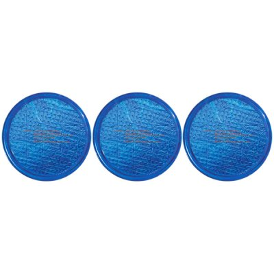 Solar Sun Rings Plain Blue Water Anchors 5ft. OD SSRA-BL-02 - 3 Pack