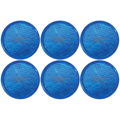 Solar Sun Rings Plain Blue Water Anchors 5ft. OD SSRA-101 - 6 Pack