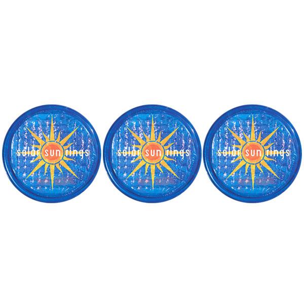 Solar Sun Rings Sunburst Water Anchors 5ft. OD SSRA-SB-02 - 3 Pack