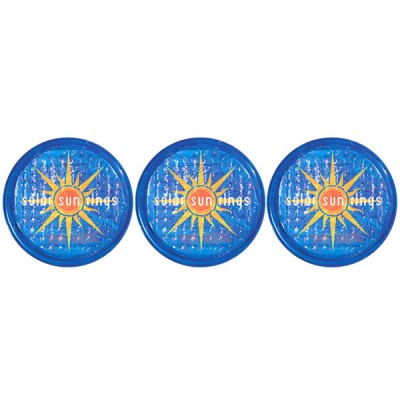 Solar Sun Rings Sunburst Water Anchors 5ft. OD SSRA-SB-02 - 3 Pack