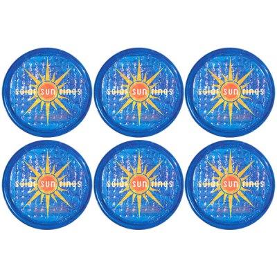 Solar Sun Rings Sunburst Water Anchors 5ft. OD SSRA-SB-02 - 6 Pack