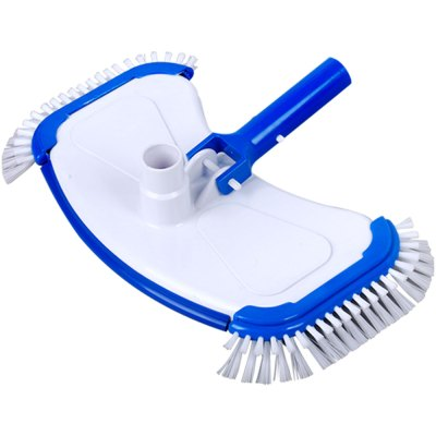 Swimming Pool Large White ABS Side Brush Vacuum Head 11108