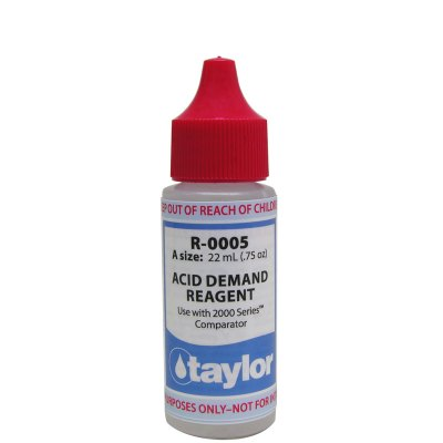 Taylor Dropper Bottle 0.75 oz Acid Demand Reagent R-0005-A