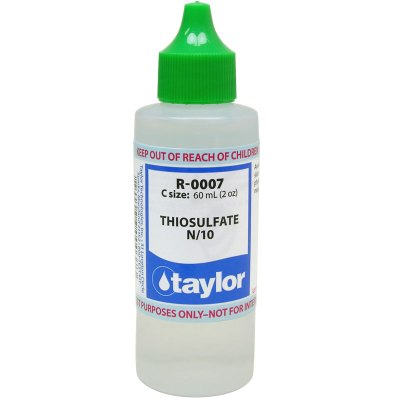 Taylor Dropper Bottle 2 oz Thiosulfate N/10 R-0007-C