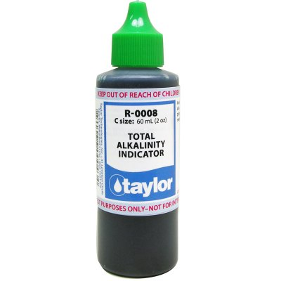 Taylor Dropper Bottle 2 oz Total Alkalinity Indicator R-0008-C