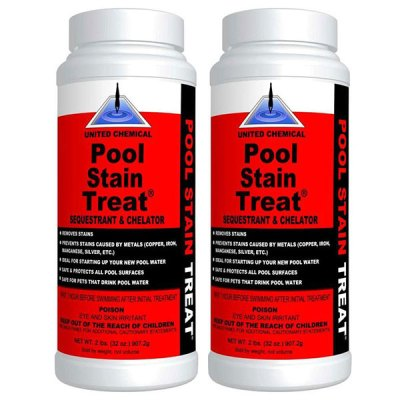 United Chemical Pool Stain Treat 2 lbs. PST-C12 - 2 Pack