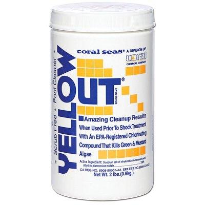 Yellow Out 2 lb. Algea Remover Algaecide Coral Seas CS1003 07612