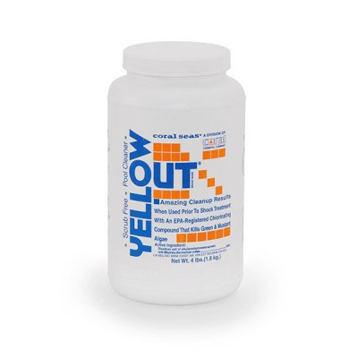 Yellow Out 4 lb. Algea Remover 07614