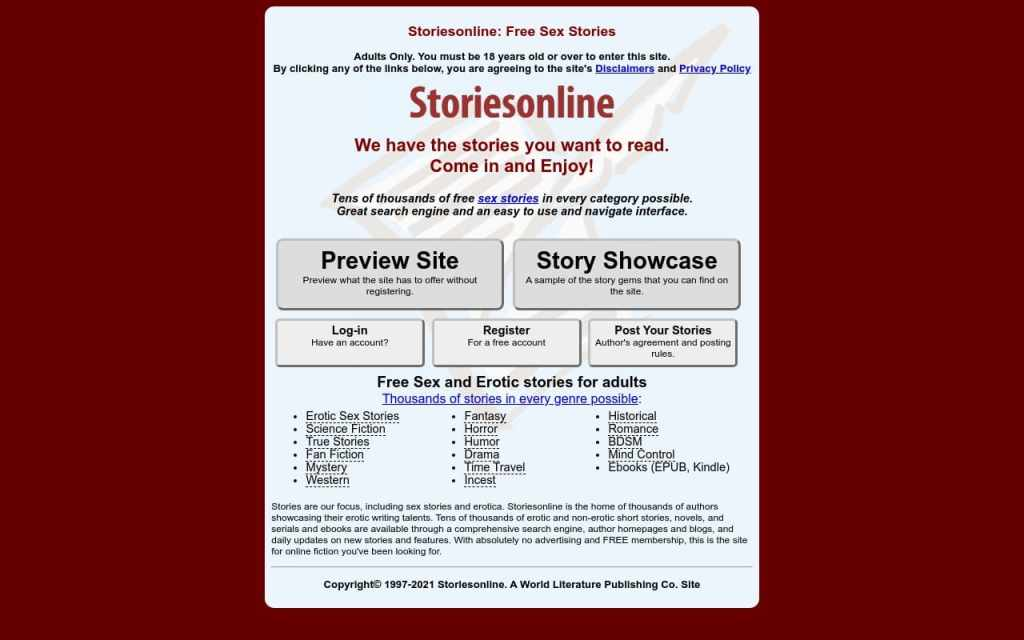 Storiesonline - Best