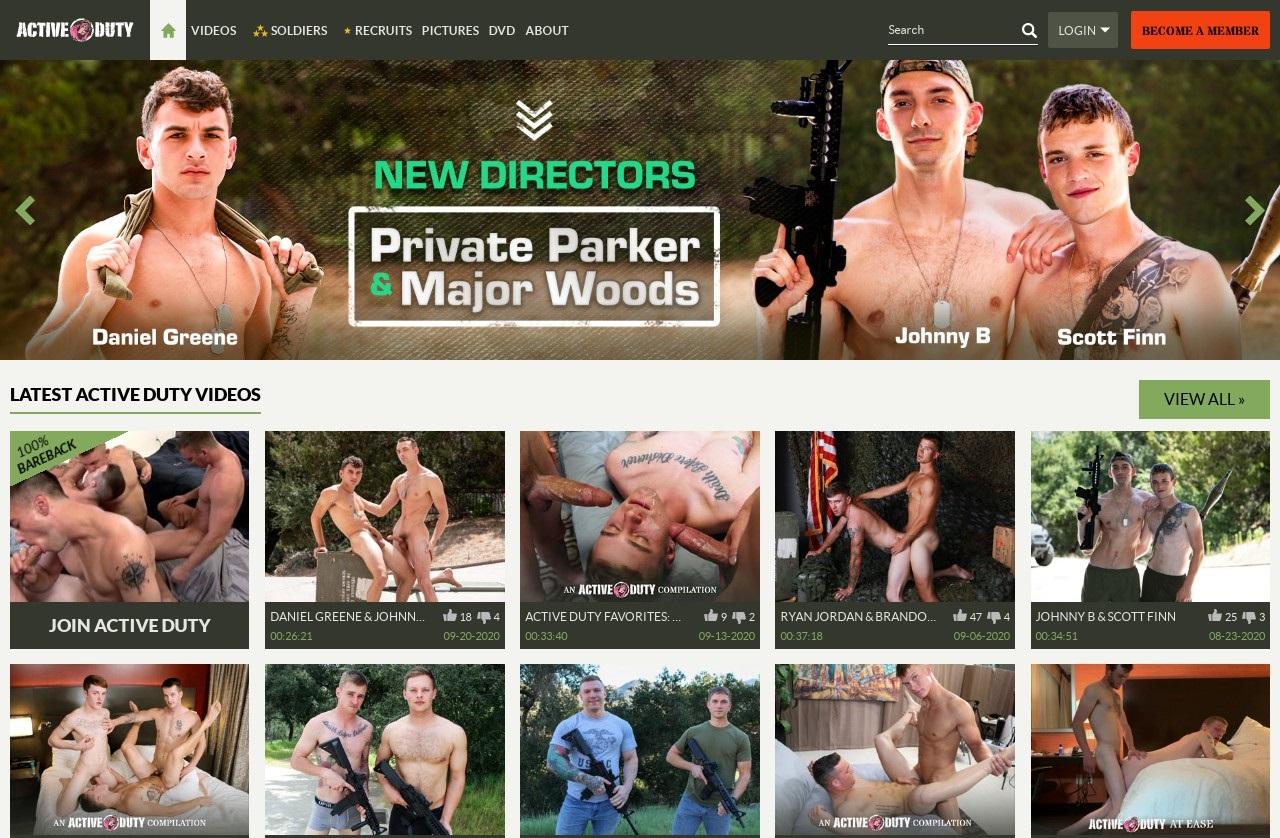 ActiveDuty - Best Premium Gay Porn Sites
