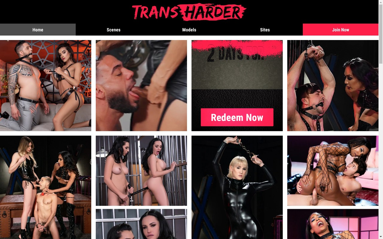 Transharder - Best Premium Shemale Porn Sites