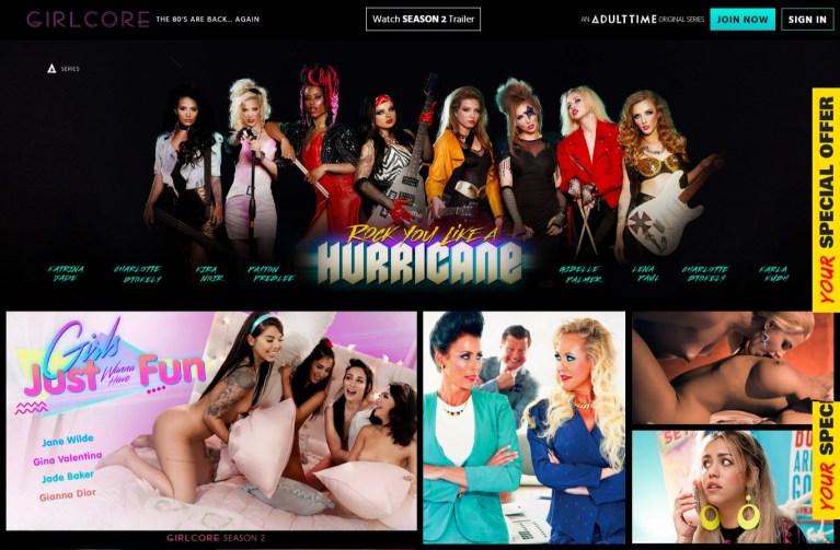 Girlcore - Best Premium Lesbian Porn sites