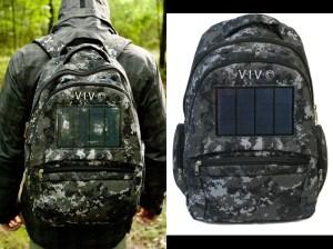 VIVO Solar Bag 2.4W Powered Backpack