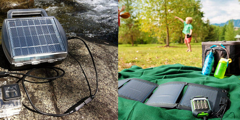 Best Solar AA Battery Chargers