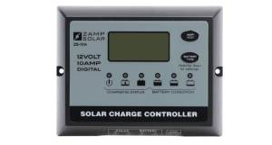 Zamp Solar solar panel display