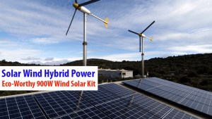 Solar Wind Hybrid Power