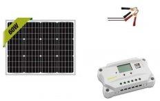 Newpowa 60W 12V Solar Panel Kit