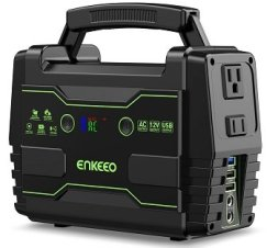 Enkeeo Portable Power Station 155Wh