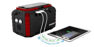 Suaoki portable solar generator new - s270