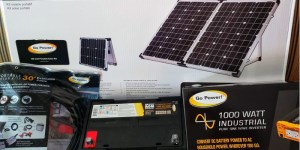 Go Power Camping Solar Panel Kits