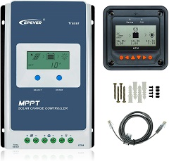 EPever 40A MPPT Solar Charge Controller