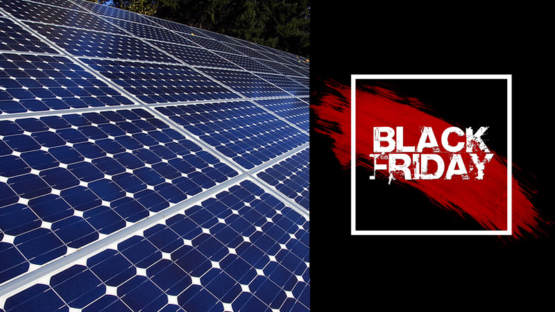 Black Friday Solar Panel Deals