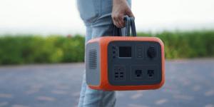Maxoak Bluetti AC50 Portable Power Station PNG