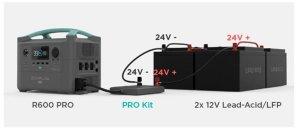 EcoFlow R600 Pro Expansion with Lead-Acid Batteries