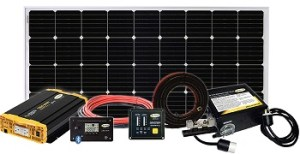 Go Power Weekender 190W Solar Panel Kit
