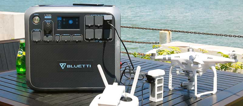 Maxoak Bluetti 2000W Solar Generator