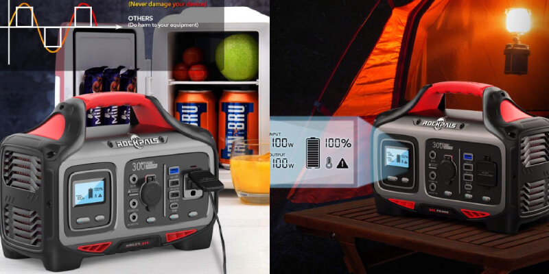 Rockpals 300W Portable Power Station Rockpower 300