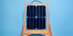 Grouphug Window Solar Charger: A Beautiful Solar Panel for Hanging in Your Windows