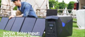 LEOCH Solar Power Station: A Power Beast with 2048Wh Battery and 2000W Power Inverter