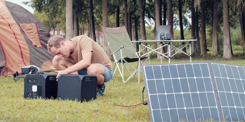 Omni Off-Grid Power Station - Solar Generator