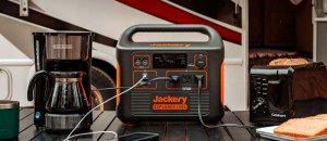 Jackery Explorer 1500 Portable Power Station: 1800W Solar Generator with 1488Wh Battery