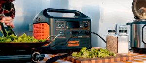Jackery Explorer 2000 Portable Power Station: 2200W Solar Generator with 2060Wh Battery