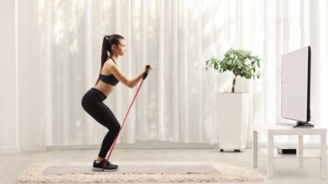 Resistance Band Workout For Your Legs