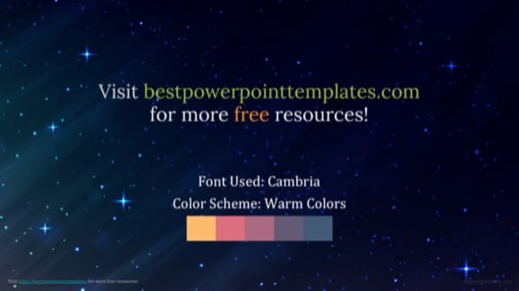 Outer space powerpoint template free 1 toneelgroepblik Choice Image