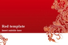 powerpoint templates red archives | powerpoint templates, Powerpoint templates
