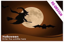Halloween PowerPoint template - free download