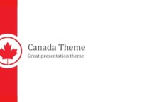 Canada PowerPoint Template - FREE