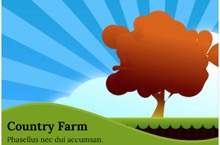 Country Farm PowerPoint Template