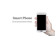 Smart Phone PowerPoint Template