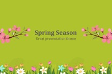 Spring PowerPoint Template - FREE