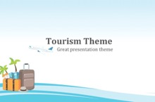 Tourism PowerPoint Template - FREE