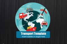 Transport PowerPoint Template