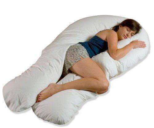 41 D9QX2umL - Comfort U Total Body Support Pillow (Full Size)