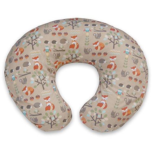 5177hdOhxPL - Boppy Pillow Slipcover, Classic Fox Forest/Tan